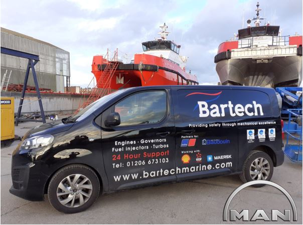 Bartech are MAN Dealers