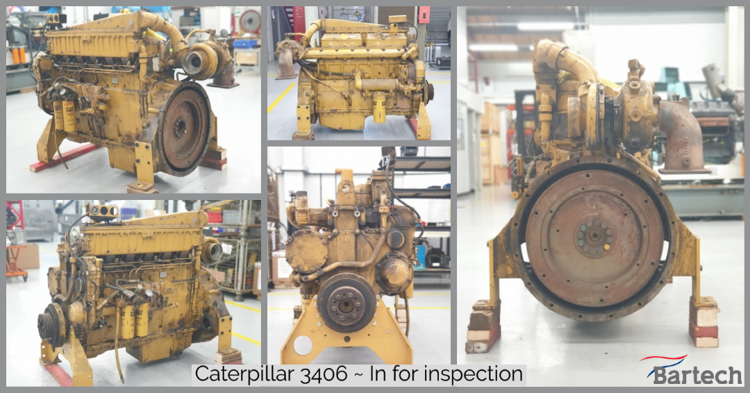 Caterpillar 3406 ~ In for inspection