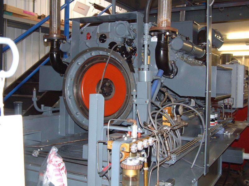 Bauer / Deutz compressor after overhaul