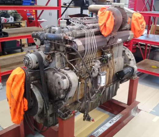 Dorman 6PTCR in Bartech workshop for overhaul