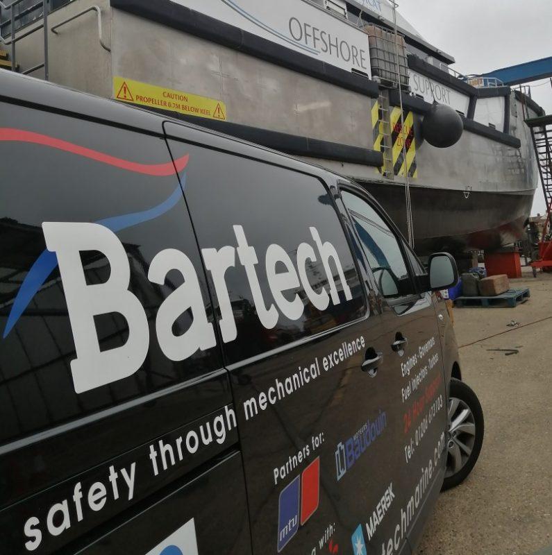 Bartech - Diesel engine breakdown response