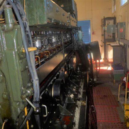 Mirrlees Blackstone ERS8 emergency generator