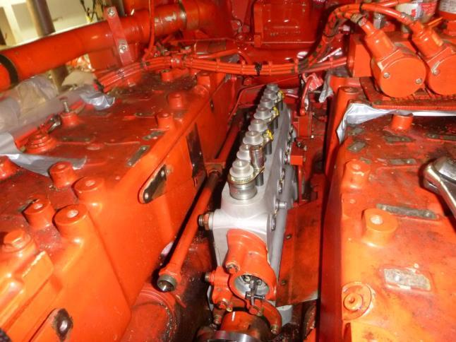 No1 fuel pump installed