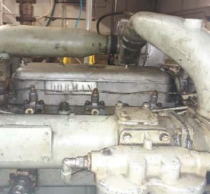 Oil leaks from rocker box on Dorman engine