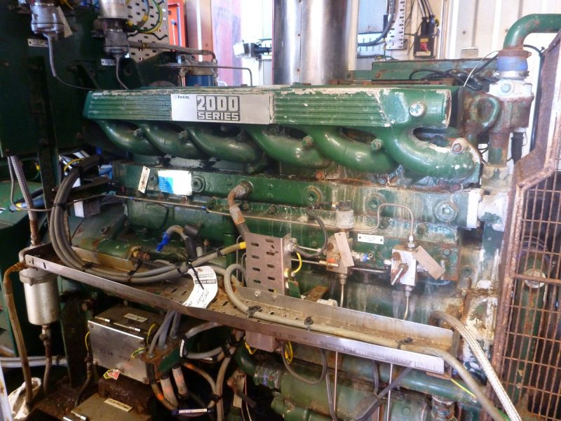 Perkins 2000 series engine