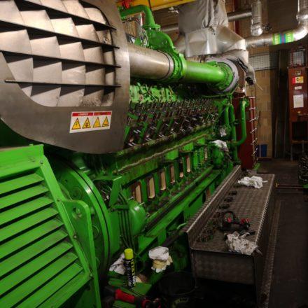Jenbacher 620 Engine Support