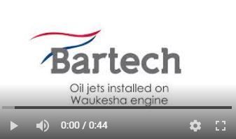 Oil Jets Installed on a Waukeshaimage